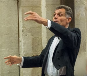 Johan Riphagen, dirigeant le choeur du Luberon - (c) F. Manguy