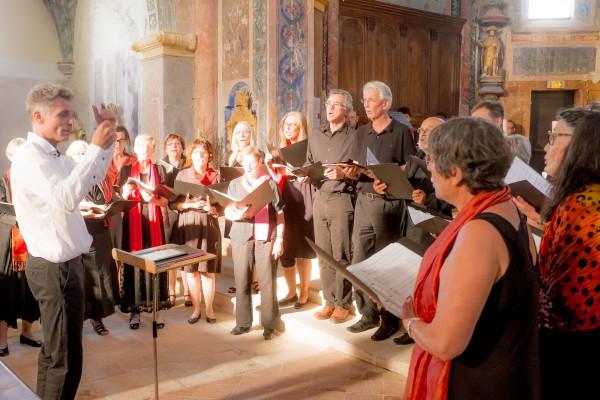 Le chœur d'Oppède - (c) F. Manguy