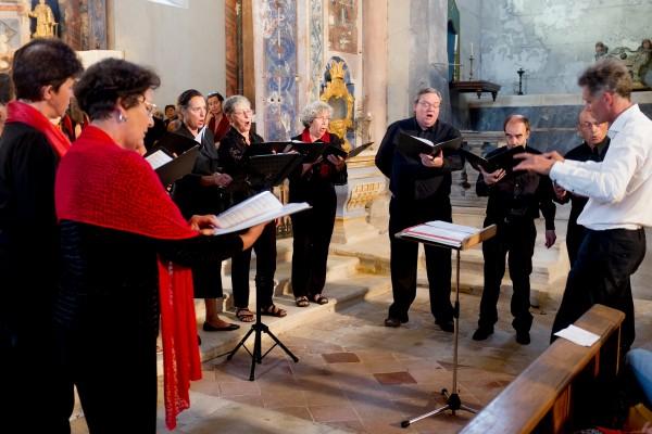 Le petit chœur - (c) F. Manguy
