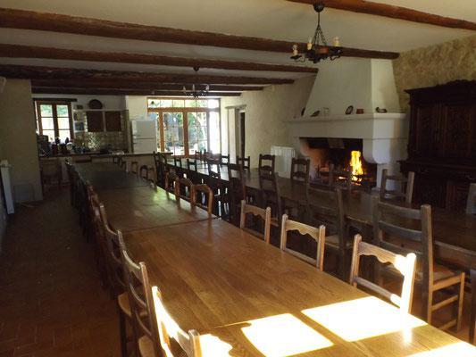 La salle de répétition (sans les tables !