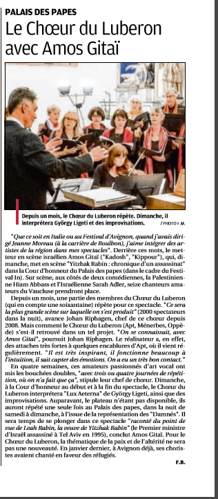 La Provence CDL 05072016