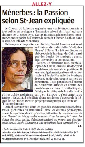 CDL Conf Passion La Provence 01022017